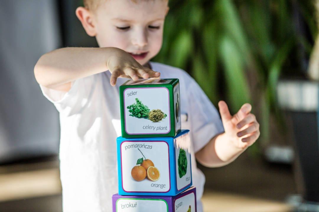 klocki owoce i warzywa